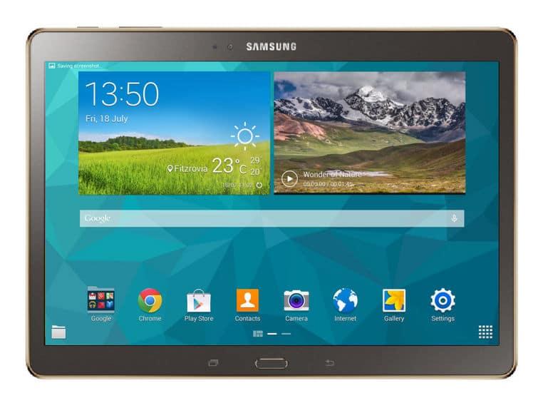 Galaxy Samsung Tab S