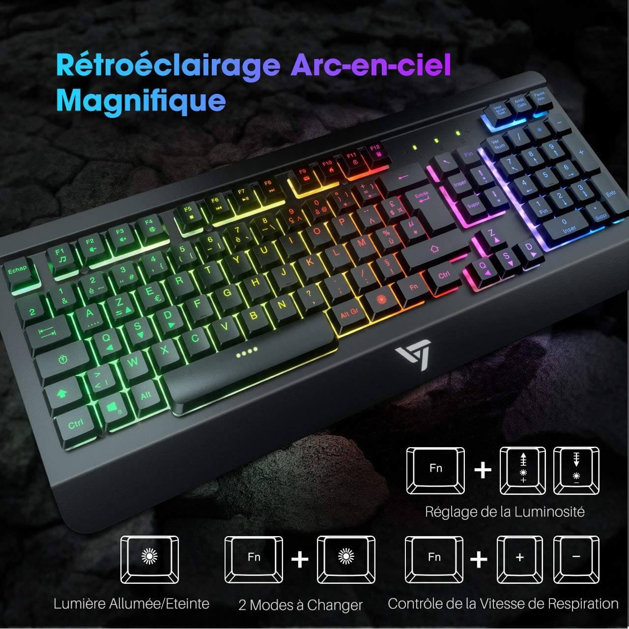 Meilleur clavier gamer pas cher