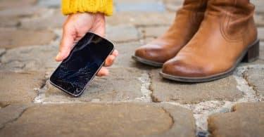 Faire appel à la garantie d'un smartphone cassé