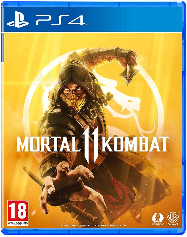 Jeu de combat PS4 Mortal Kombat 11