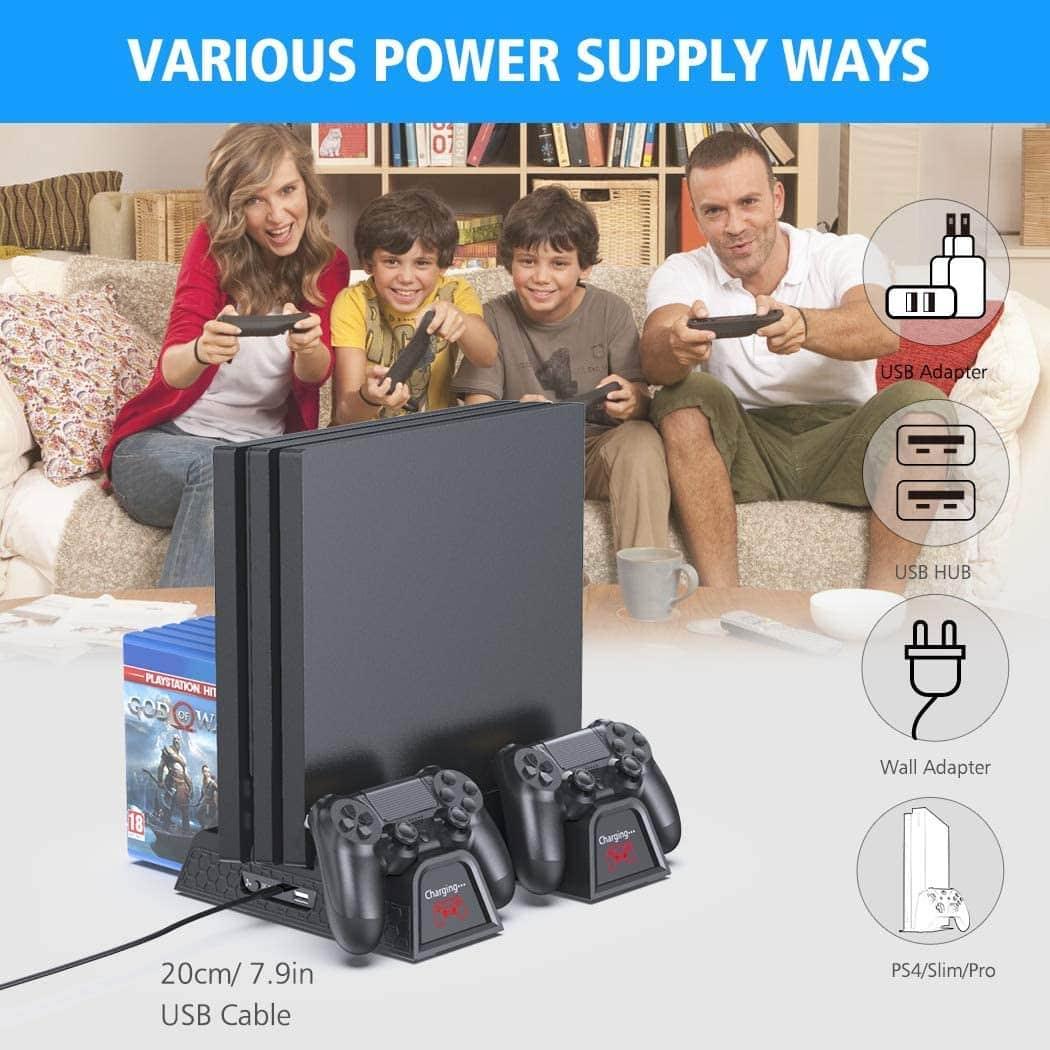 Support Ventilateur du Refroidissement pour PS4/PS4 Pro/PS4 Slim